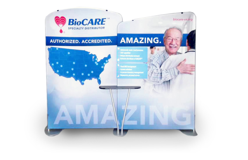 BioCARE-DisplayD 5 Tips for a Successful Trade Show Display