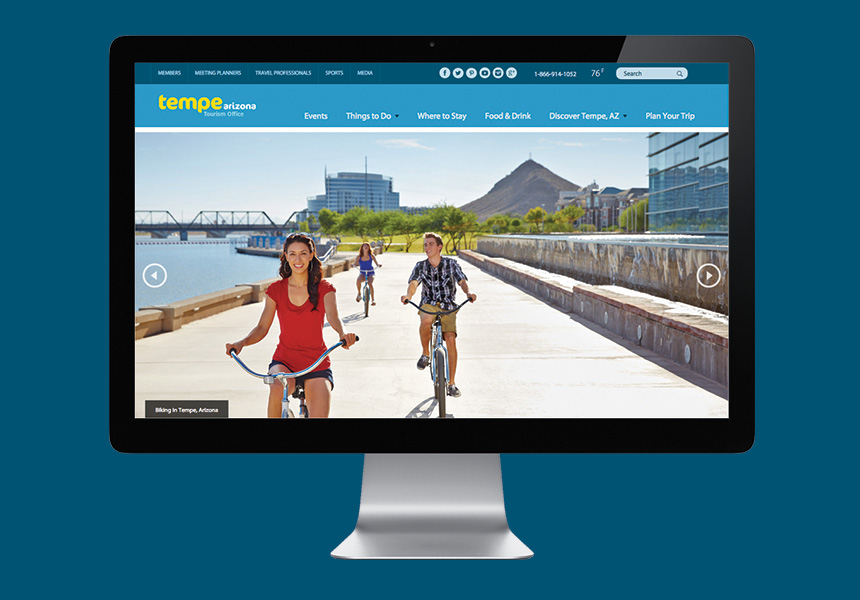 Website Tempe Tourism Office