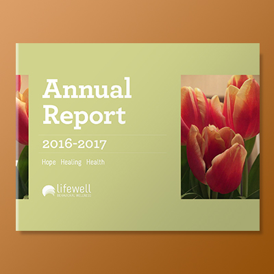 Lifewell Behavioral Health: Annual Report 2016-17