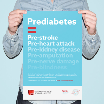 Arizona Department Of Health Services: Prediabetes Awareness Campaign