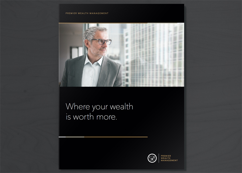 Folder-1 California Bank & Trust: Premier Wealth Management