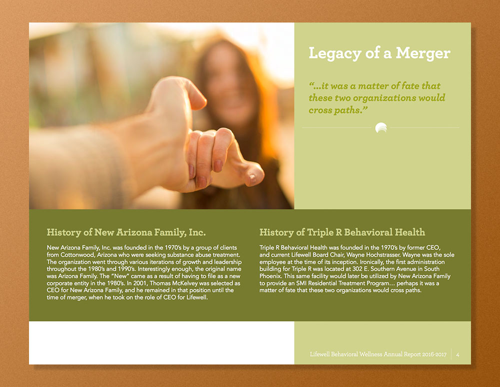 LifeWell_AR_4 Lifewell Behavioral Health: Annual Report 2016-17