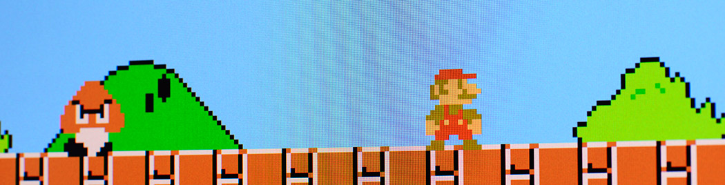 mario Animate Still Images With Parallax
