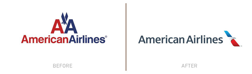 5-AmericanAirlines Logo Evolution