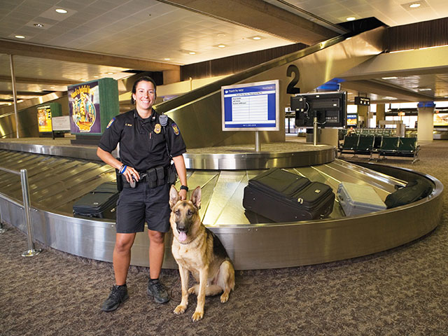 Police-Officer Phoenix Sky Harbor International Airport