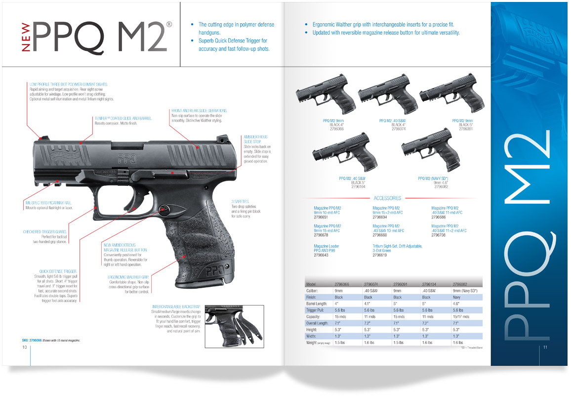 WAL_Catalog_Spread Walther Arms